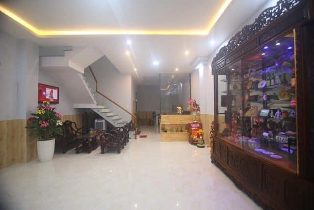 Sảnh tiếp khách của khách sạn MiLava (Ảnh ST)