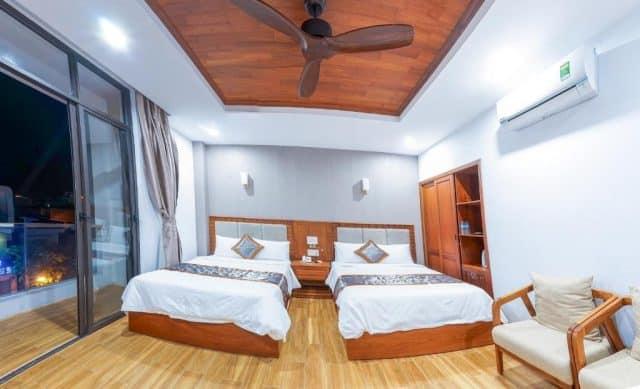 Phòng nghỉ của khách sạn được thiết kế rất đẹp (Ảnh ST)