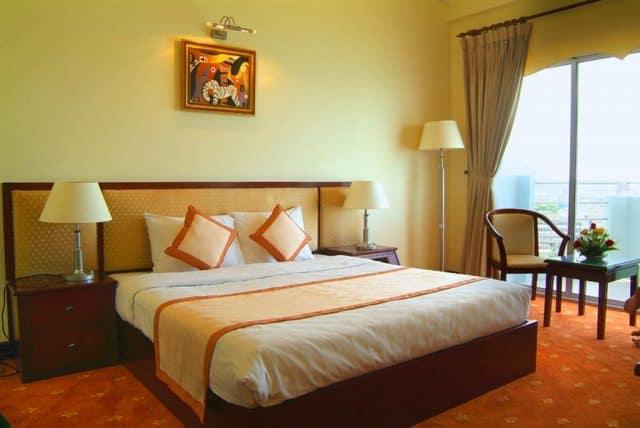 Phòng nghỉ trong khách sạn (Ánh ST)