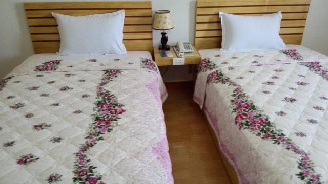 Màu sắc hài hòa trong không gian phòng nghỉ (Ảnh ST)