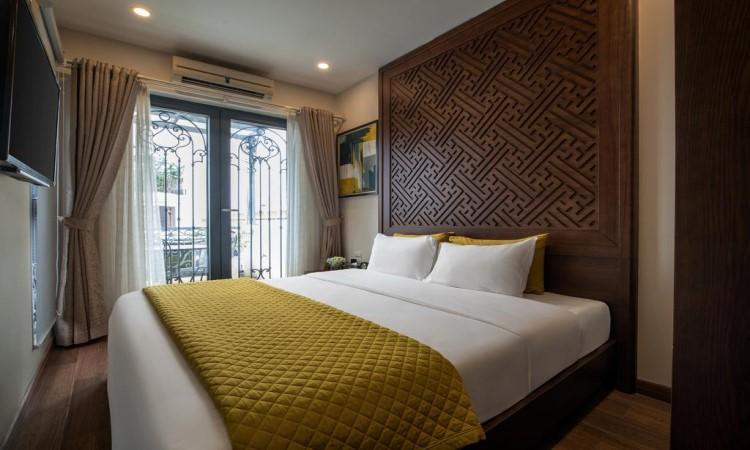 Phòng Deluxe khách sạn Hanoian Lakeside