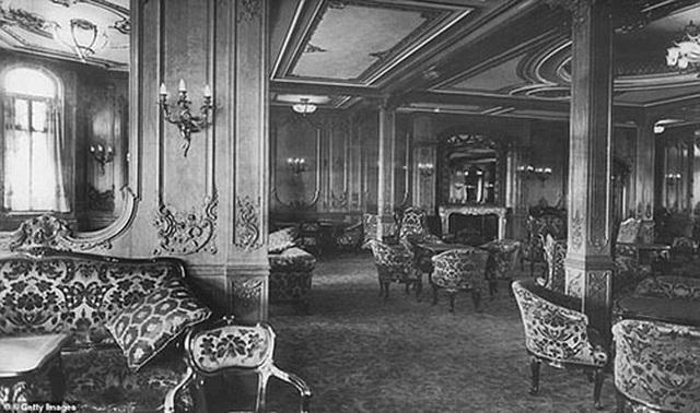 Phòng chờ hạng nhất tàu Titanic năm 2012