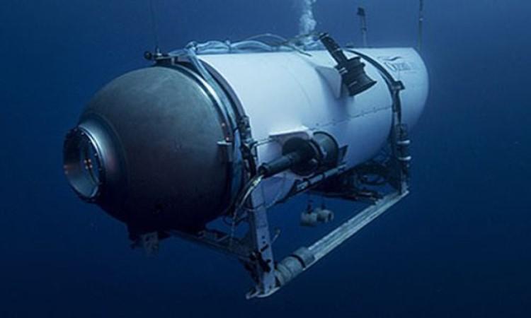 Tàu lặn lớp Cyclops lặn tới độ sâu nơi có xác tàu Titanic
