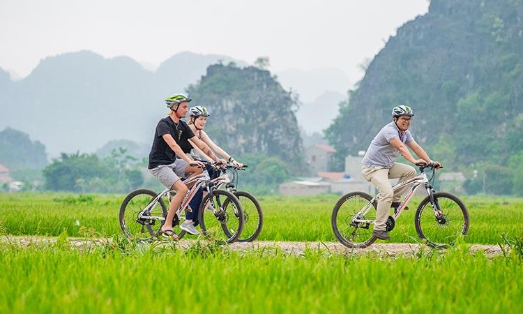 Đạp xe tại Ninh Bình - Trải nghiệm không nên bỏ lỡ