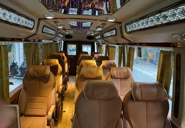 Ghế Limousine Bus Hà Nội Tam Chúc