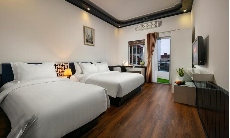 Phòng khách sạn tại phố cổ Hà Nội