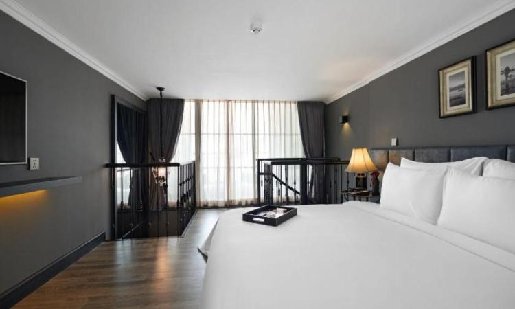 Phòng Duplex Premium khách sạn hạng sang hà nội La Siesta 27 Hàng Bè