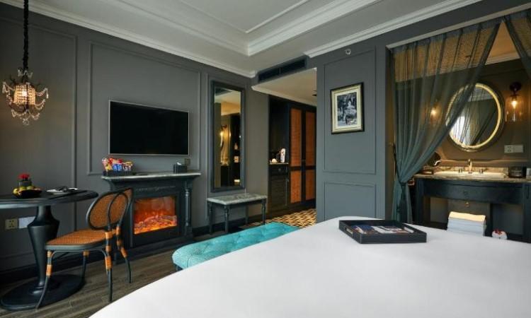 Phòng Junior Suite khách sạn hạng sang hà nội La Siesta 27 Hàng Bè