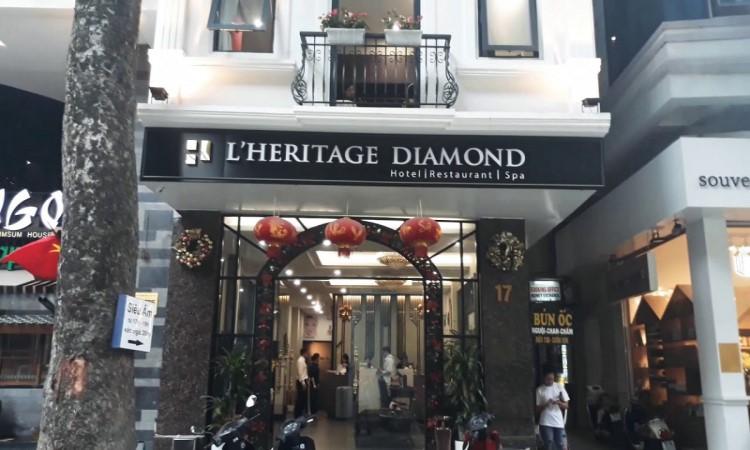 khách sạn hà nội L'heritage Diamond 17 Nhà Chung