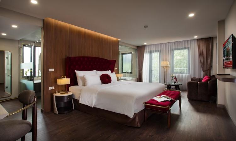 phòng Executive Suite khách sạn hà nội L'heritage Diamond 17 nhà chung