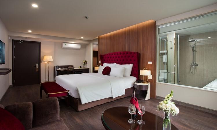 phòng Suite khách sạn hà nội L'heritage Diamond 17 nhà chung