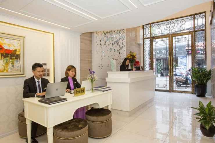 sảnh khách sạn hạng sang luxury old quarter 67 Hàng Bồ Hà Nội